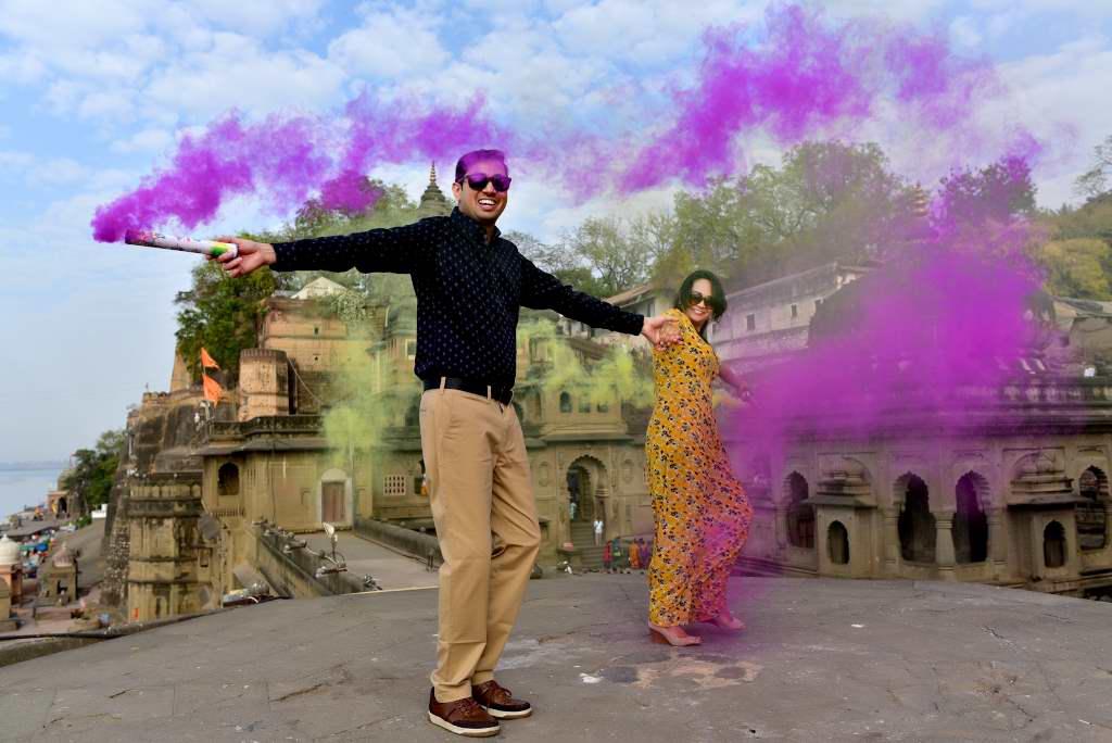 Pre Wedding Photoshoot Maheshwar