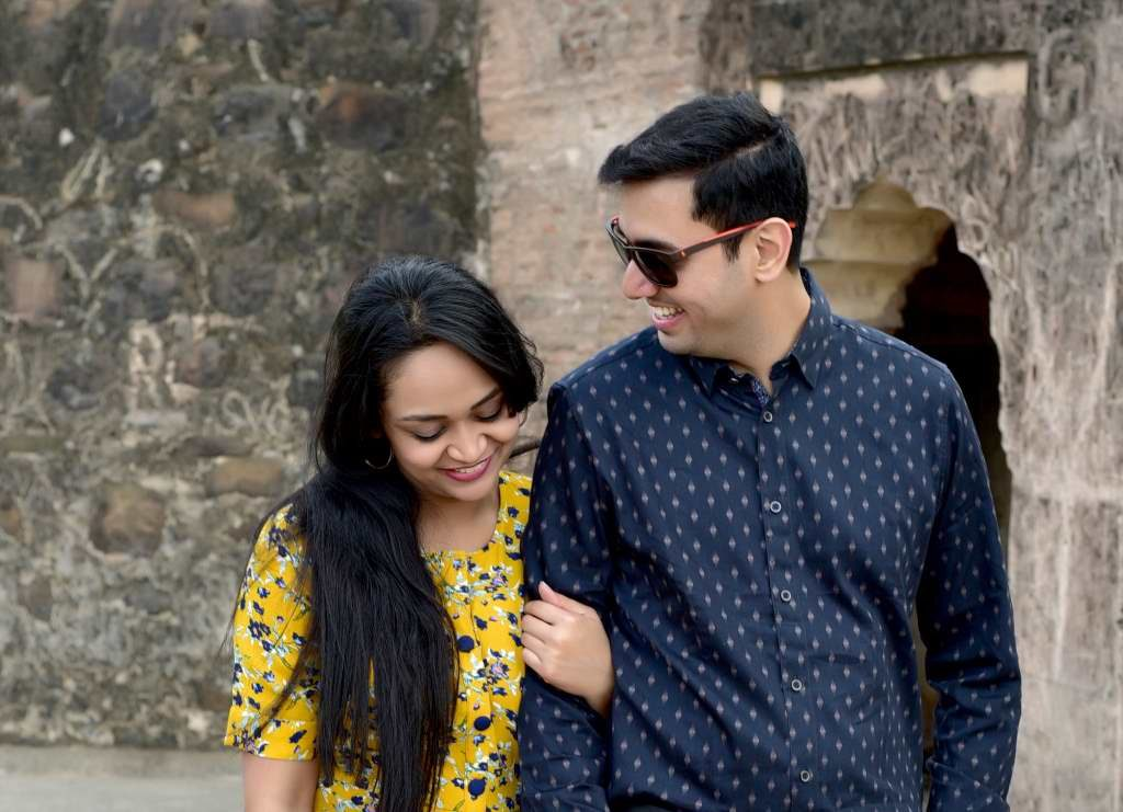Pre Wedding Photoshoot Maheshwar